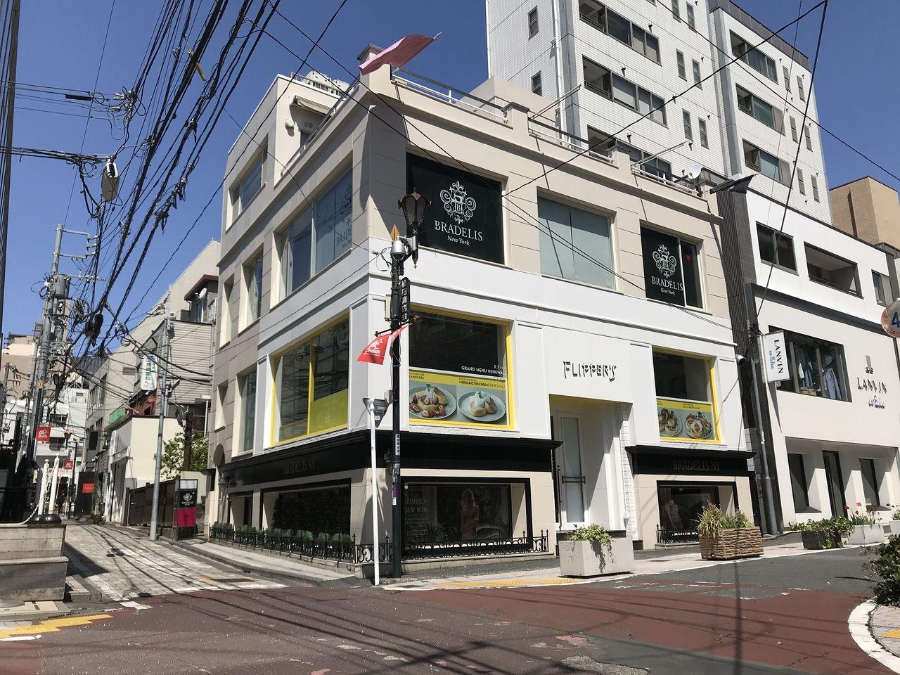 千代田線明治神宮前駅徒歩3分キャットストリート沿い売り店舗ビルガーデンテラス