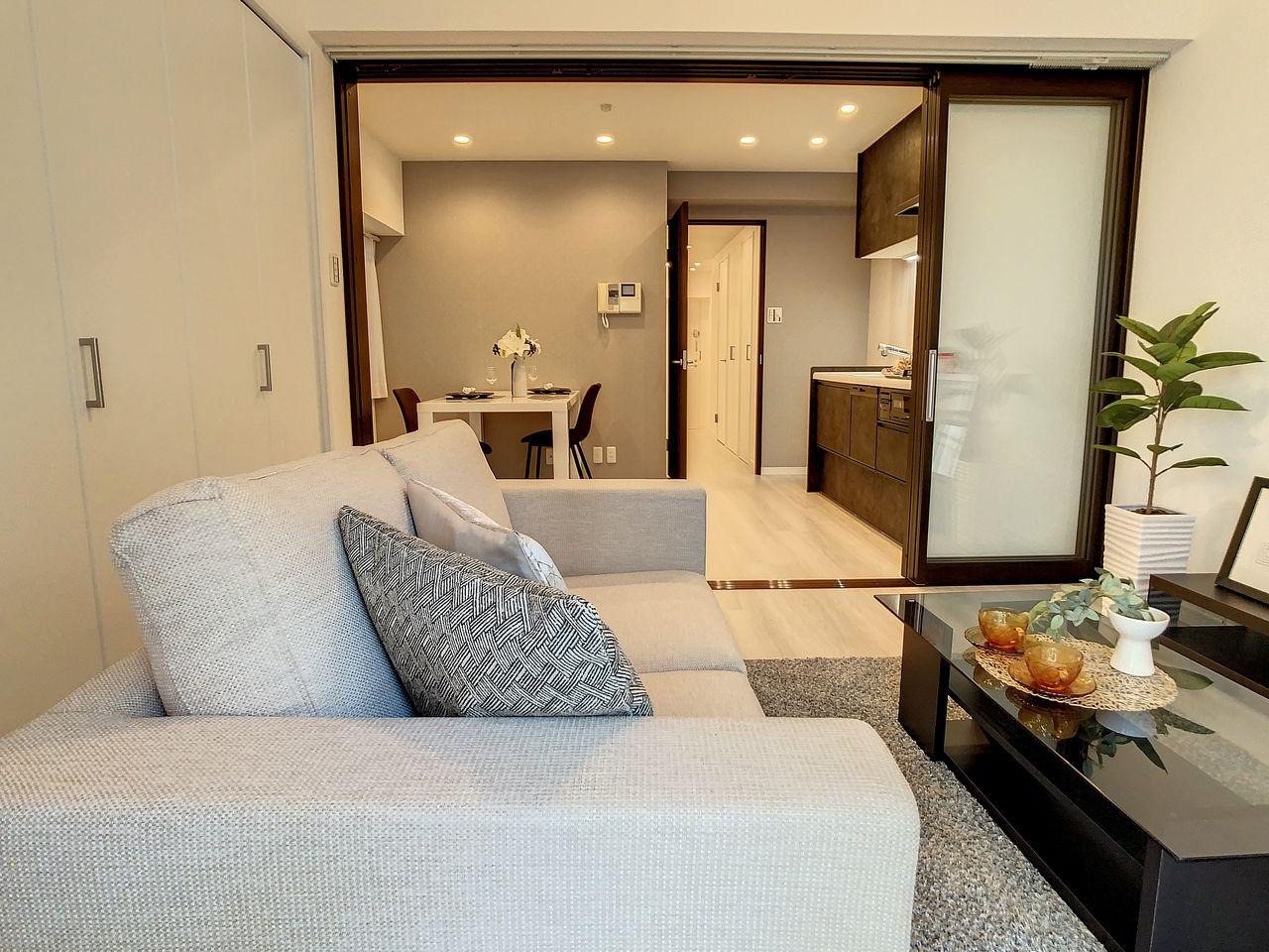 渋谷区広尾1丁目に建つ分譲賃貸マンション~日興パレス広尾プラザ1006号室